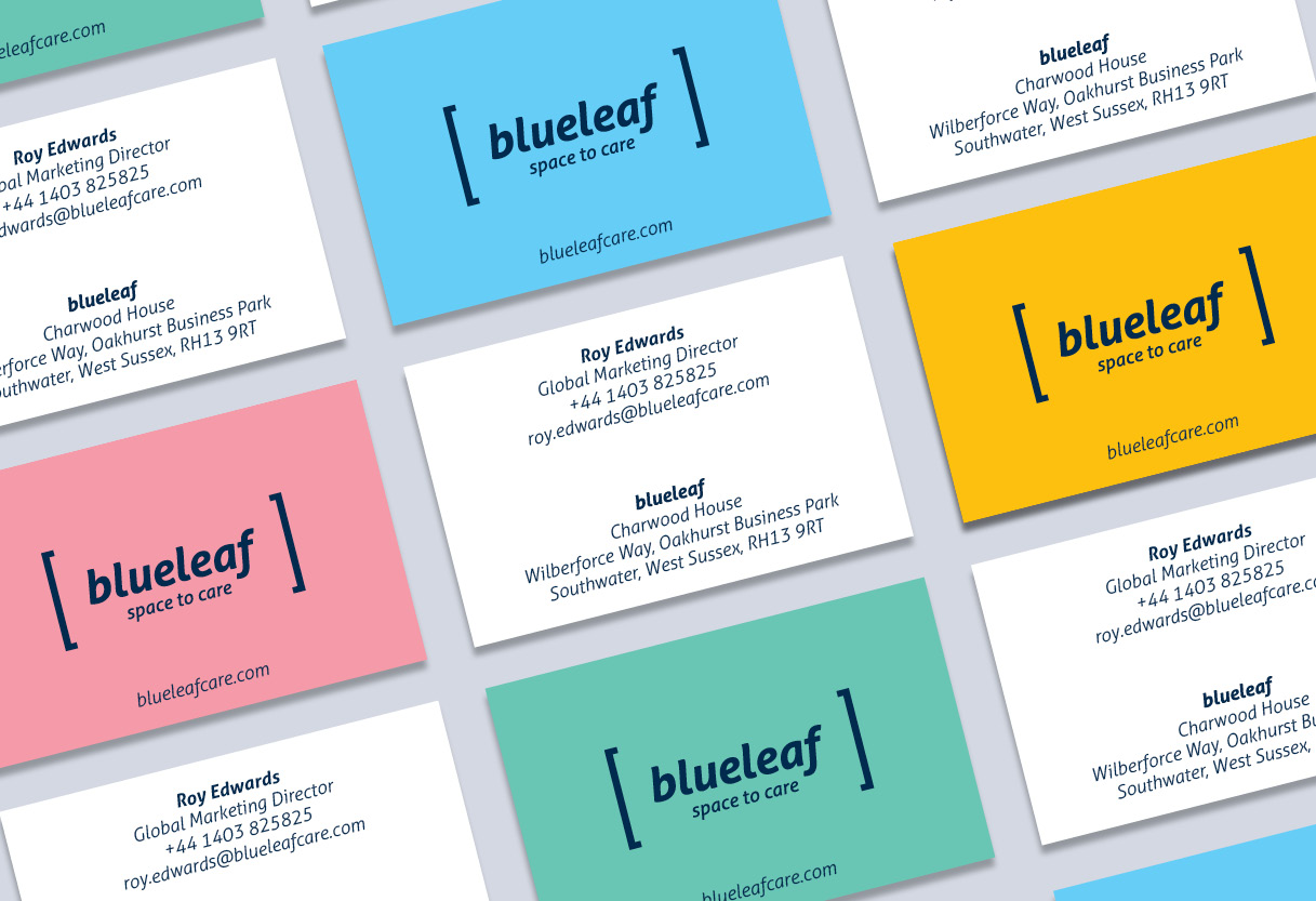 Blueleaf business cards