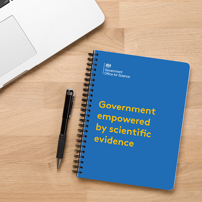 Government Office for Science Notebook