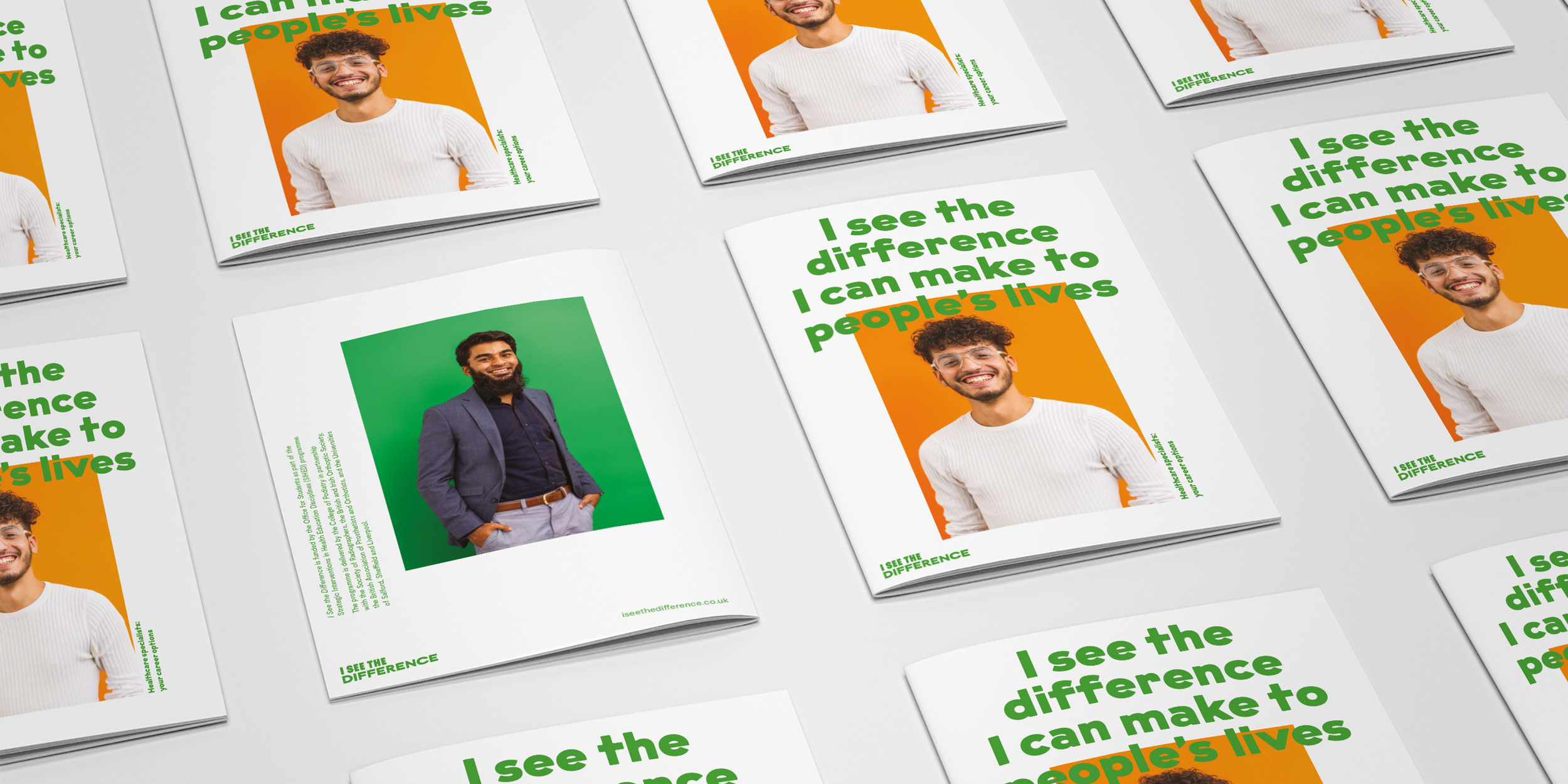 I See The Difference Campaign brochure