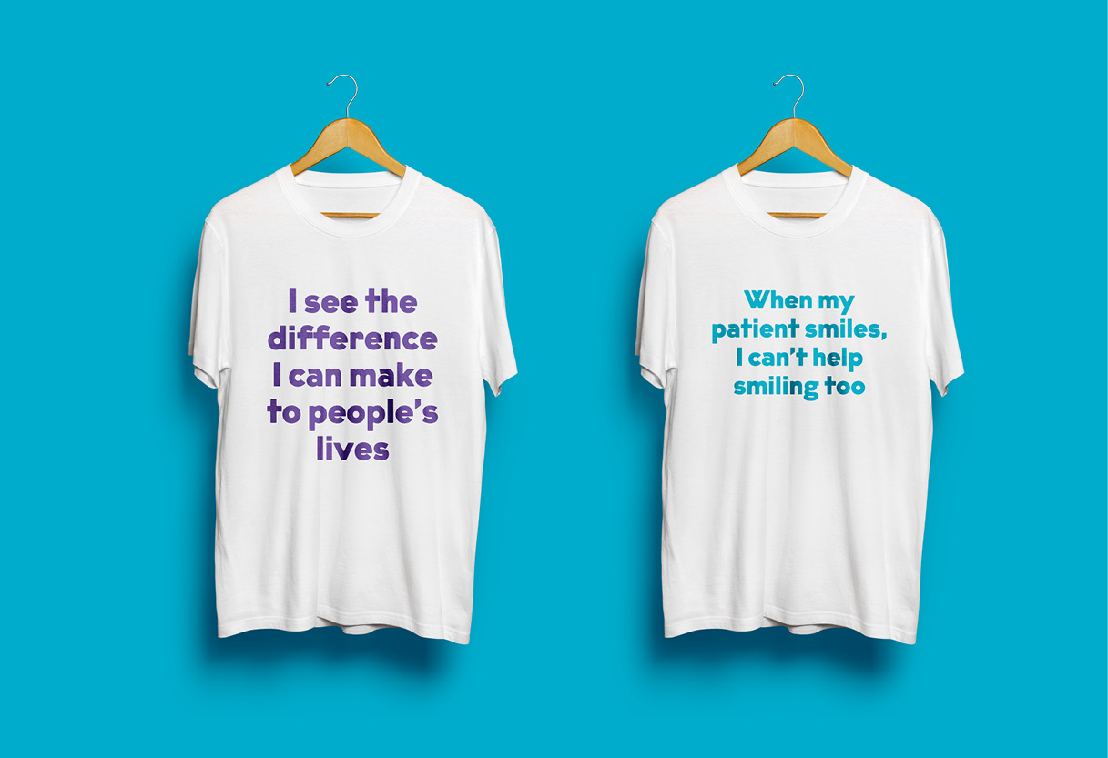 I See The Difference Campaign T-shirts